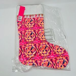 New Lilly Pulitzer GWP Christmas stocking!